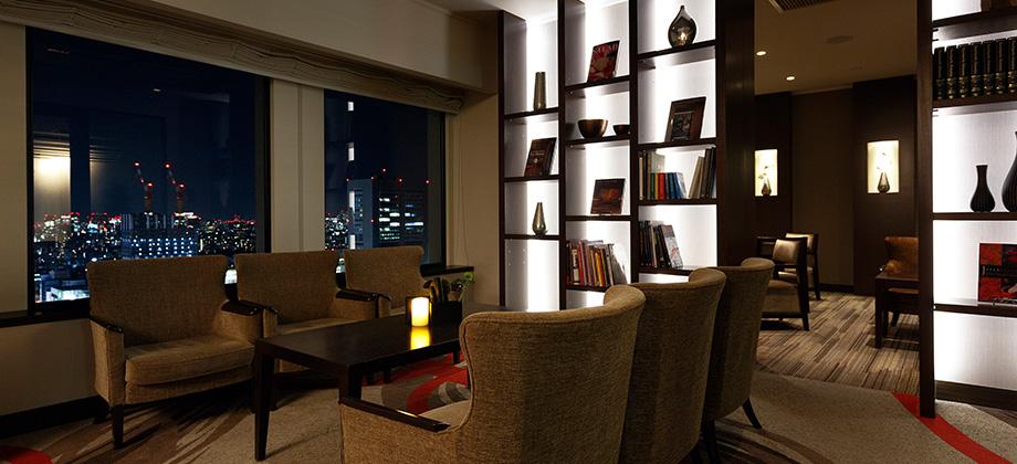 Luxe Lounge Keio Plaza Hotel Tokyo